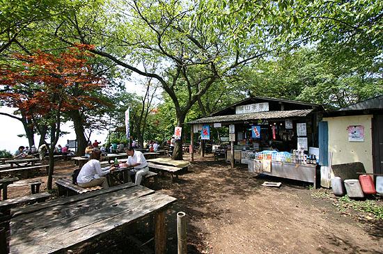 城山茶屋。